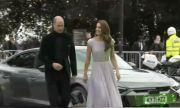 Принц Уилям се появи с Аudi RS e-tron GT