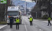 Македонската полиция блокира Скопие