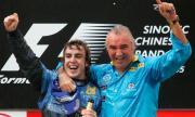 Бивш шеф на Benetton и Renault:  Алонсо и Шумахер са пилоти от едно ниво, както са Меси и Роналдо