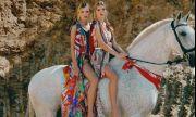 Вижте очарователните сестри близначки на Енрике Иглесиас (СНИМКИ)