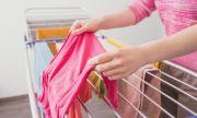Спрете да сушите прането си вкъщи