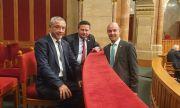 Унгарският парламент приветства Валери Симеонов