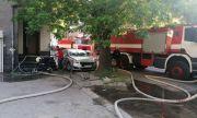 Запали се кооперация в центъра на Пазарджик