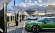 Porsche пусна най-мощната зарядна станция за електромобили