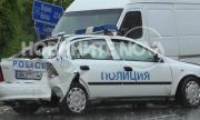 Бус блъсна патрулка на пътя Варна - София