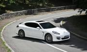 Porsche Panamera изгоря след катастрофа край Пловдив