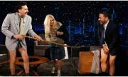 Българка свали панталоните на американски водещ в ефир (ВИДЕО)