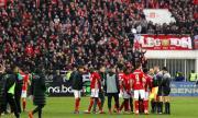 От Клуж се оплакаха от феновете на ЦСКА
