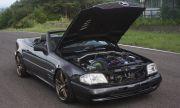 Продава се Mercedes SL с двигател от Toyota и седалки от Ferrari