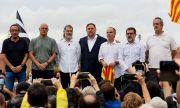 Испания освободи каталунските представители