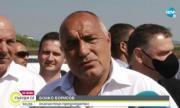 Борисов от Поморие: Няма да коментирам ченгеджийските номера на Радев