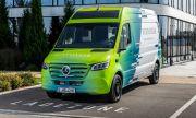 Mercedes представи куриерски бус от бъдещето