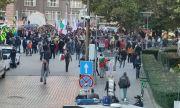Протест пред Президентството заради COVID мерките