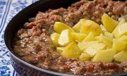 Рецепта за вечеря: Кайма с картофи по турски