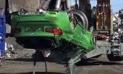 Полицията във Великобритания унищожи поръчково BMW M3 комби