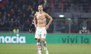 Ибрахимович се отчете с гол и автогол при успех на Милан над Болоня с два червени картона