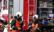 И военните гасили пожара в Хасково