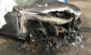 Жестоко предупреждение: Запалиха колата на футболен треньор