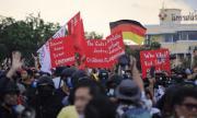 Хиляди на протест в Тайланд