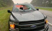 Вижте какво се случи с Ford, който беше ударен от мълния