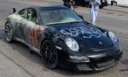 Брутална гавра с едно Porsche 911 по улиците на Лос Анджелис
