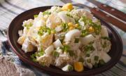 Рецепта за вечеря: Топла картофена салата