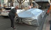 Външен волан за най-бързата серийна кола в света