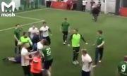 Масов бой на любителски турнир по футбол (ВИДЕО)