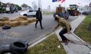 Протест на полски фермери във Варшава