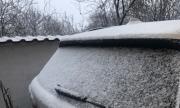 Майски сняг изненада шофьорите в Смолянско