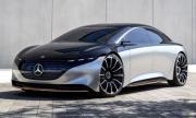 Mercedes-Benz се заканва EQS да удари Tesla в земята по пробег