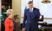 Янев и посланик Предеску обсъдиха изграждане на трети мост през Дунав