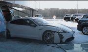 Руснакът, който подпали Mercedes-а си, съсипа и Porsche Taycan (ВИДЕО)