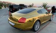 Със златно Bentley на Свети Влас (СНИМКИ)