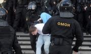 Бунтът продължава! 250 протестиращи са задържани в Минск (ВИДЕО)