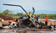 Четирима загинали след падане на хеликоптер
