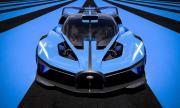 Най-после? Ето го мистериозното Bugatti
