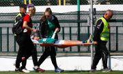 Тежък инцидент в Благоевград! Съперничка счупи крака на футболна националка
