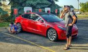 Срив в приложението на Tesla