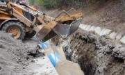 Готови са 3 километра от водопровода за Перник