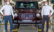 Знаете ли колко G-Klasse са произведени от Mercedes?