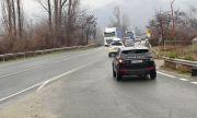 Затвориха временно пътя между Петрич и Сандански