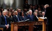 Нов скандал в Белия дом! Махнаха портретите на Бил Клинтън и Джордж Буш-младши от фоайето на резиденцията