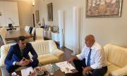 Борисов проведе среща с кмета на Бяла за брегоукрепително съоръжение