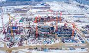 Започна бетонирането на най-високата изпарителна кула в Русия