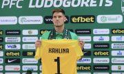 Новият вратар на Лудогорец: Дойдох в България заради Дамбраускас