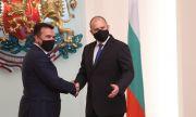 Радев след срещата със Заев: Надявам се на прагматичен подход