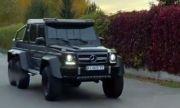 Боксьорът Олександър Усик си купи менте на Mercedes G63 AMG 6×6