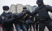 Руската полиция арестува десетки граждани, подкрепящи Навални