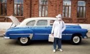 61-годишна линейка се включи в борбата с коронавируса